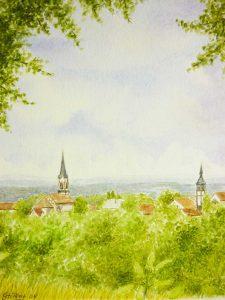 Buntstift-Neunkirchen-nochmals-225x300 Aquarell