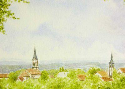 Buntstift-Neunkirchen-nochmals-400x284 Aquarell