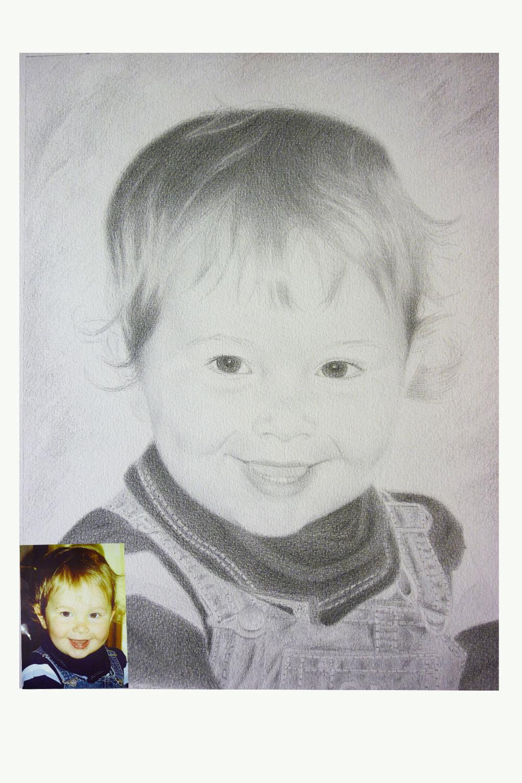 Kinderportrait-Vorlage-2 Ansicht
