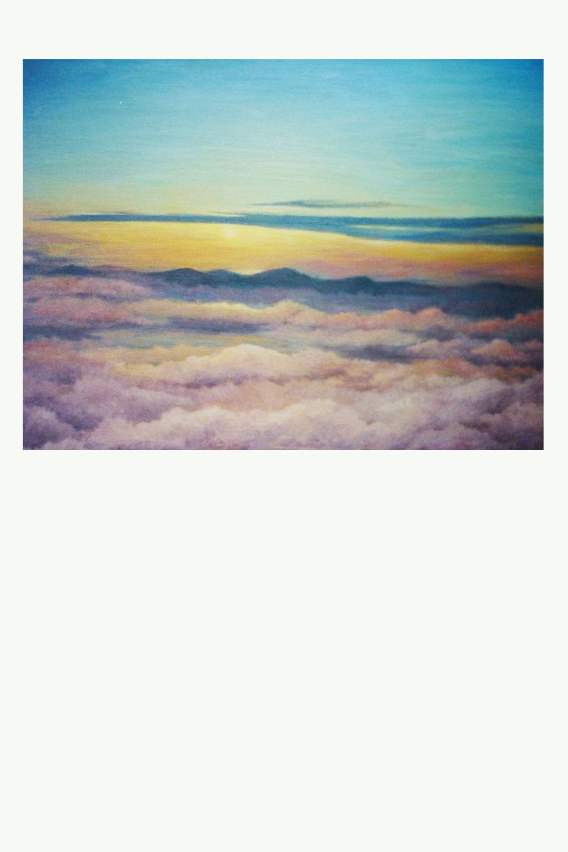 Sonnenaufgang-Teneriffa Ansicht